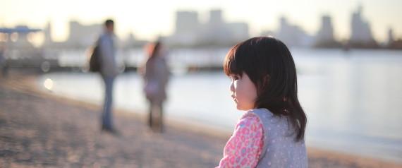 Baby on the Seashore